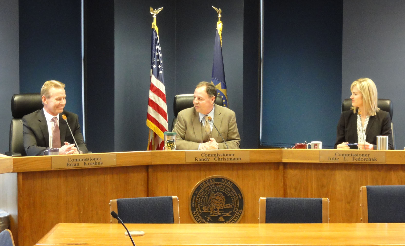 PSC Welcomes Commissioner Brian Kroshus